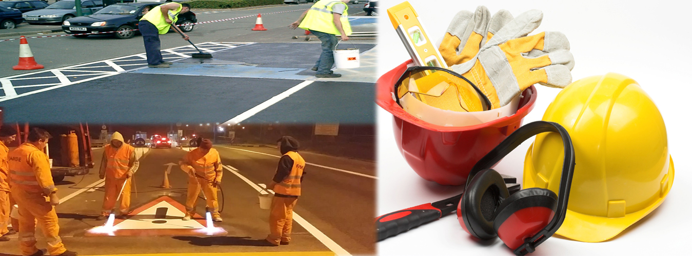 ROAD MARKING and VARIOUS SAFETY MATERIAL SUPPLYING